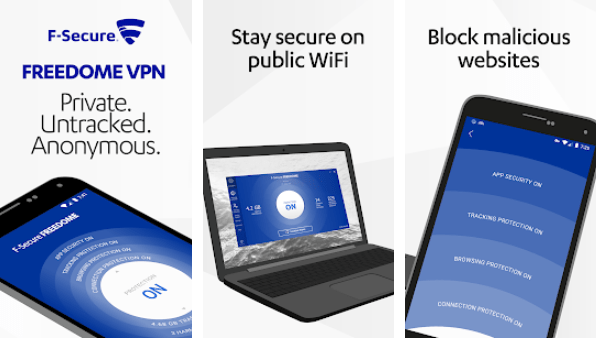 Download F-Secure Freedome VPN for PC