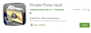 Private Photo Vault for PC