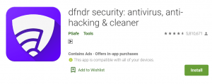 Dfndr Security For PC