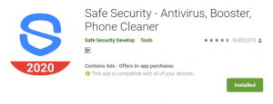 Safe Security For PC