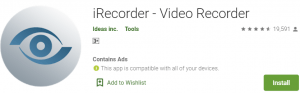 iRecorder for PC Download