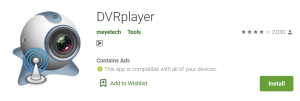 DVRplayer For PC