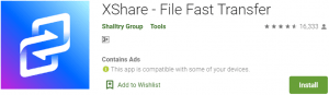 XShare for PC Download