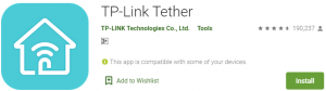 TP-Link Tether for PC Download