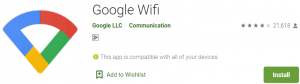 Google Wifi App Download for PC