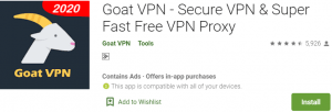 Goat VPN for PC Download