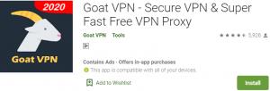 Goat VPN for PC Download