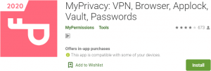 MyPrivacy for PC Download