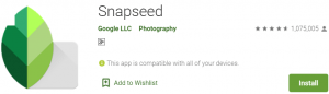 Snapseed for PC Download