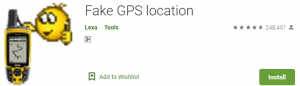 Fake GPS for PC