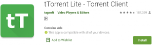 tTorrent for PC Download