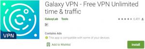 Galaxy VPN PC Download