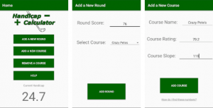Golf Handicap Calculator For PC