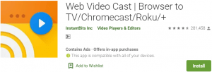Web Video Caster for PC Download