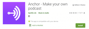 Anchor for PC