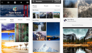 Flickr for PC