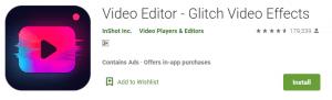 Glitch Video Editor For PC