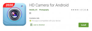 HD Camera For PC