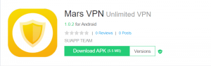 Mars VPN For PC