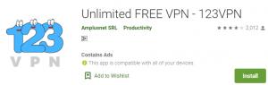 123VPN for PC Download