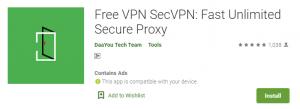 SecVPN For PC