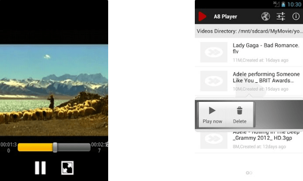 A8 Video Player for PC