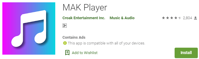 MAK Player for PC