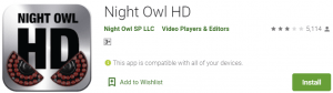 Night Owl HD PC Download