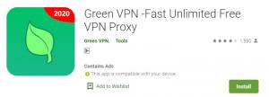 Green VPN For PC