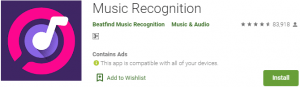 Beatfind Music Recognition PC Download