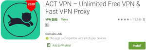 ACT VPN PC Download