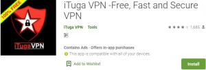 iTuga VPN PC Download