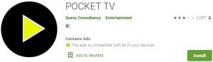 POCKET TV PC Download