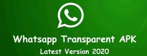 WhatsApp Transparent For Windows