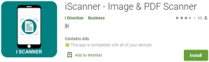 iScanner PC Download