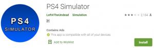 PS4 Simulator PC Download