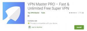 VPN Master PRO For PC