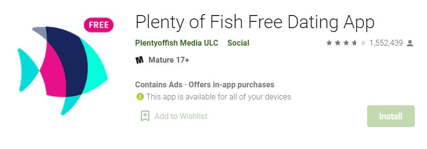 Plenty of Fish Dating for Mac