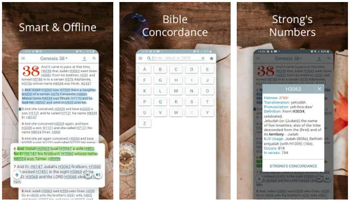 Bible Concordance and Strongs Offline on Windows