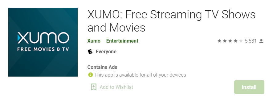 Xumo for Mac