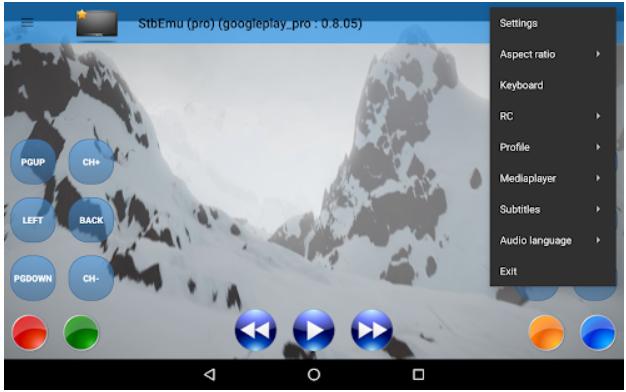 StbEmu app on Windows