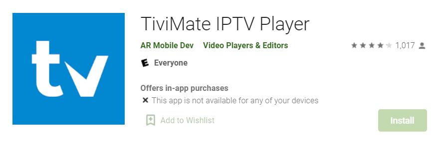 TiviMate IPTV for Mac