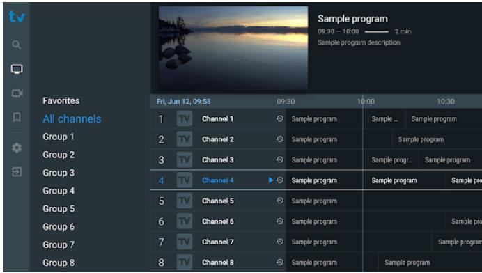 TiviMate IPTV app PC download