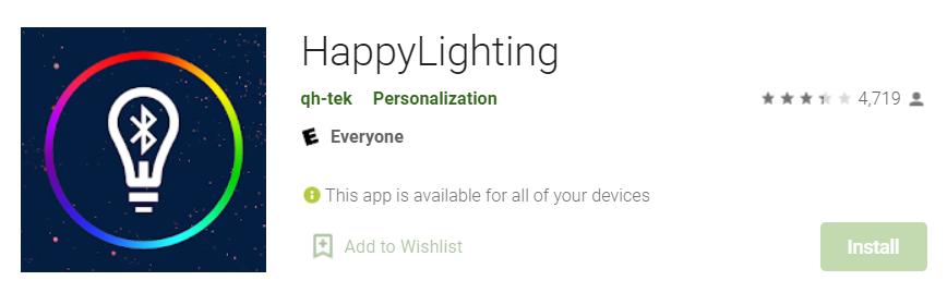 Happy Lighting for Mac
