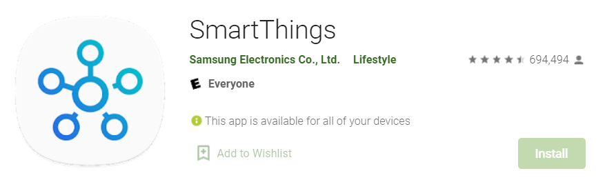 SmartThings for Mac