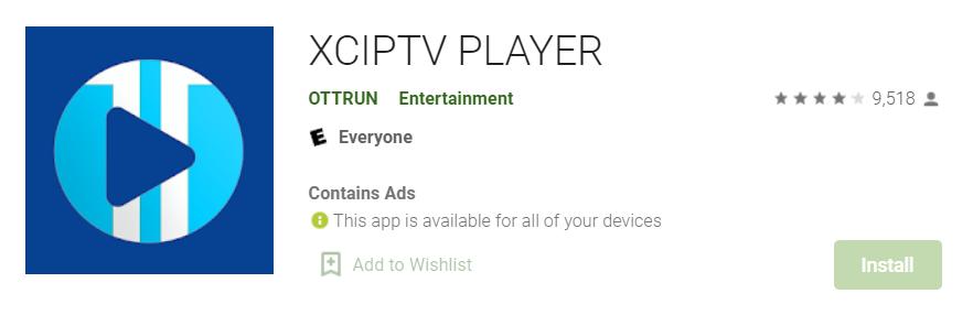 XCIPTV Player for Mac