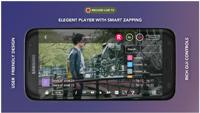 GSE Smart IPTV app on Windows